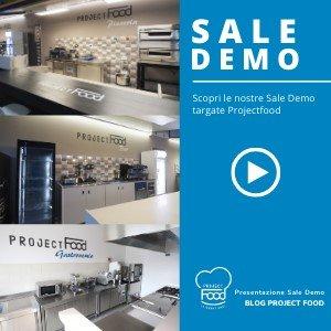 Presentazione sale demo marchiate Projectfood
